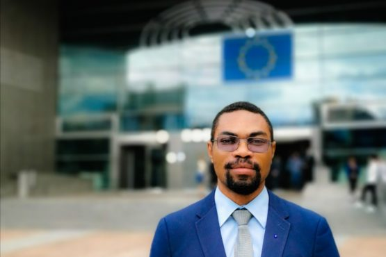 Discours de M. MVOGO, Président-fondateur de l'OJUEA, au Parlement Européen le 16 octobre 2019